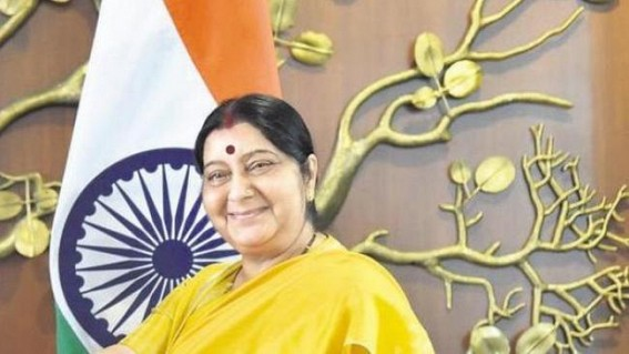 Sri Lanka blasts: Sushma in touch with Indian High Commissioner