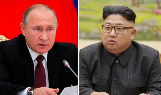 Kim Jong-un arrives in Russia to meet Putin
