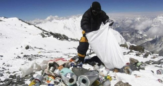 3,000 kg garbage collected from Mt Everest region