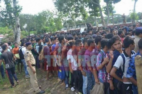 Unemployment Toll rising up in Tripura
