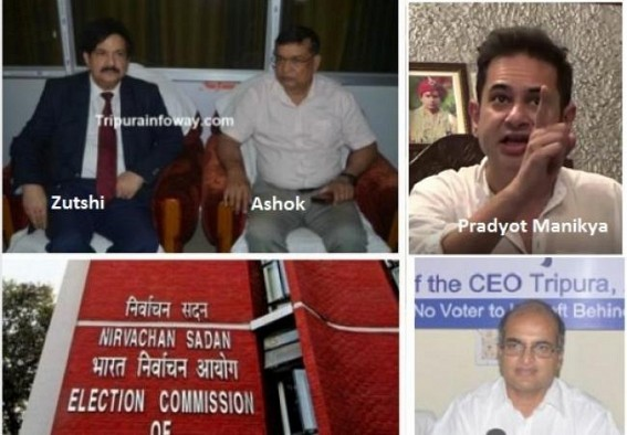 EC's Special Observer Vinod Zutshi's biased role under scanner : Zutshi overruled 433 booths re-poll request of CEO Taranikanti, ordered only 168, Congress seeks report from ECI