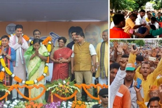 CM Biplab Deb's stern warning restores partially Law & Order but in 'Calpol theory' : State BJP needs  urgent trimming to establish a Criminal-free party for the 'Long Run'