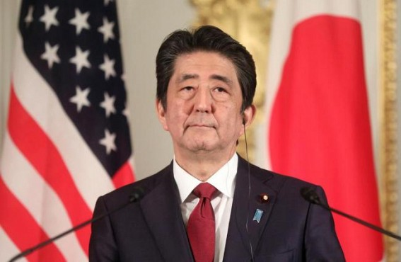 Japan's Abe departs for Tehran to ease US-Iran tensions