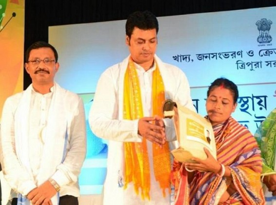 'BJP will exist in Power for 50 years in Tripura', claims Biplab Deb challenging CPI-M's 25 years regime