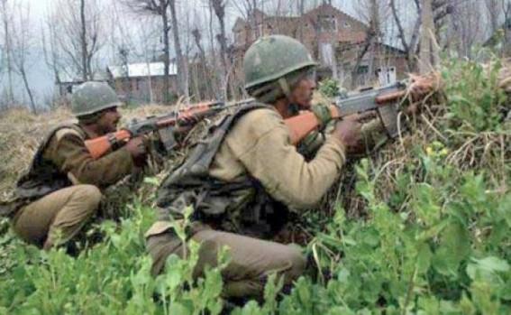 Soldier, 2 militants killed in J&K gunfight