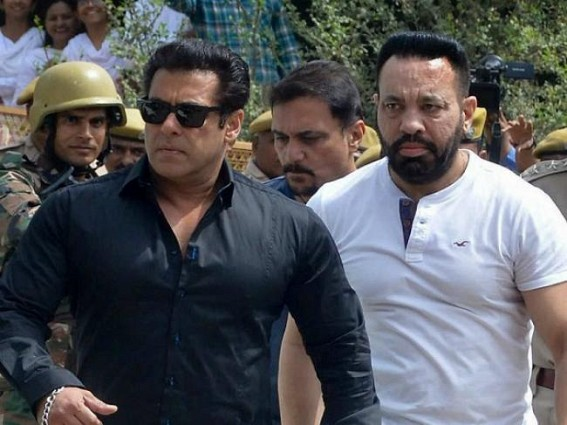 Salman takes his security team through 'highs, lows'