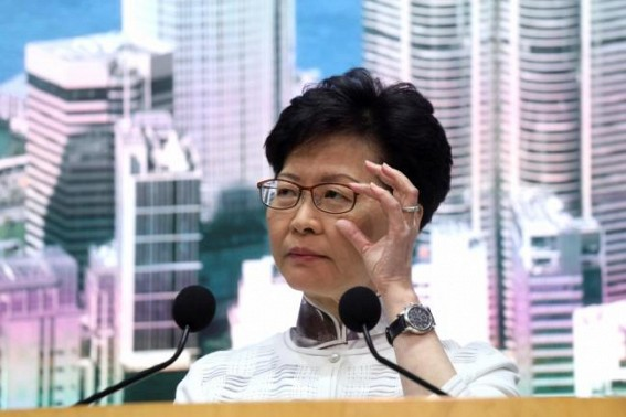 HK chief issues 'most sincere' apology over extradition bill