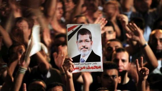 Egypt's ex-President Morsi buried after courtroom death