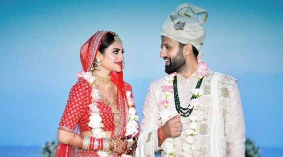 Trinamool MP Nusrat Jahan marries Kolkata businessman Nikhil Jain