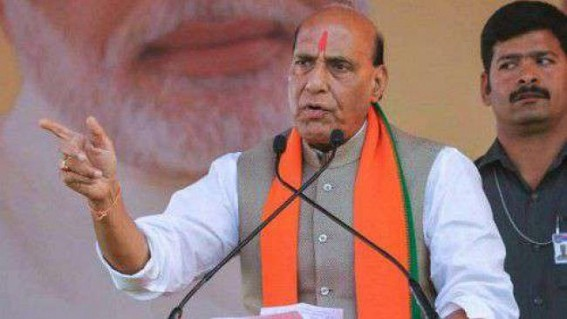 Farmer suicides have fallen in five years: Rajnath
