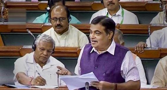 Toll system to continue, says Gadkari in Lok Sabha