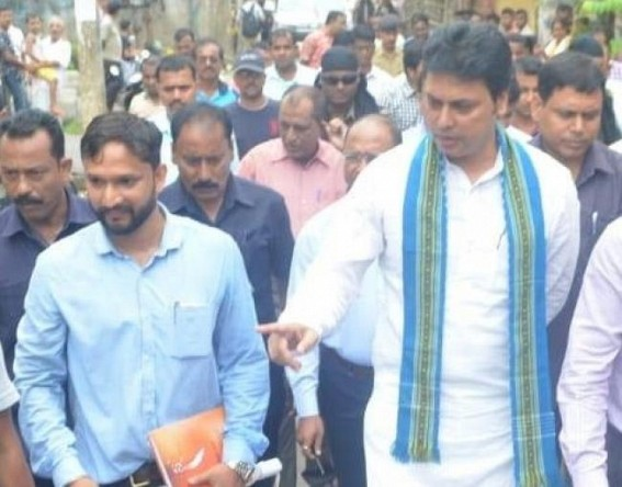 PM Modi's keenness about Save Water project proves his foresight, says Biplab Deb