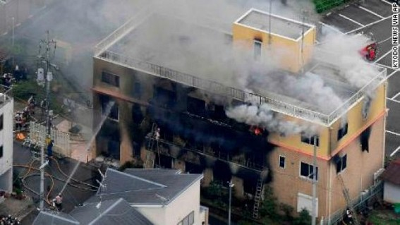 23 killed in suspected arson attack at Japan anime studio