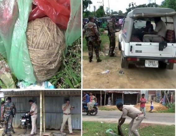 Tension in Agartala outskirts after live bomb recovered ahead of Panchayat Election: Illegal manufacturing of arms, bombs turned major threat for Tripura's Law and Order