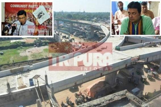 Agartala Flyover Inauguration Delay : Biplab Deb asks reason behind Badal Chaudhury's 'headache' to open flyover fast