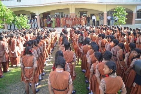 New routine for Class 1 to 12 from 8 AM begins in Tripura