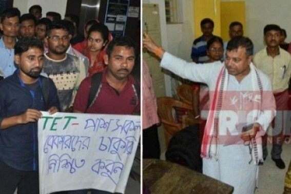 1141 TET Qualified youths left jobless, frustrated in Tripura : No assured future promised by Education Dept yet