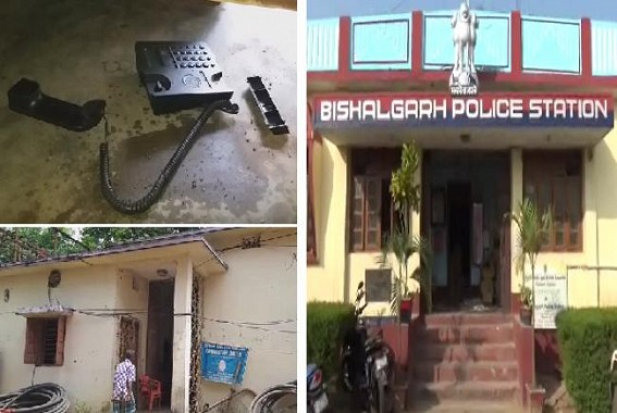 After Agartala, Powerhouse attacked in Bishalgrah by angry mob : Office properties damaged, minor injuries to TSECL staffs