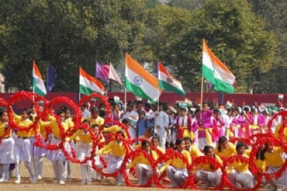 Preparations on peak for independence day celebration