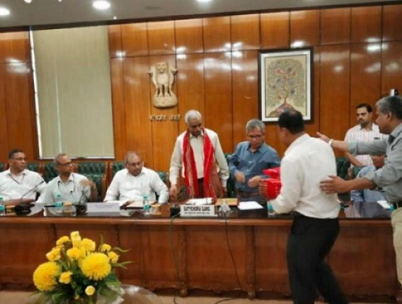 Banned NLFT-SD militants to surrender officially today before Tripura Government : CM to welcome militants in homeland's main-stream