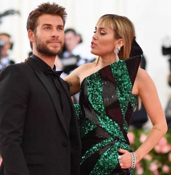 I wish happiness for Miley: Liam