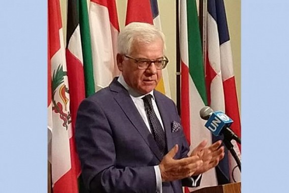 UNSC chief Poland backs bilateral resolution of Kashmir issue