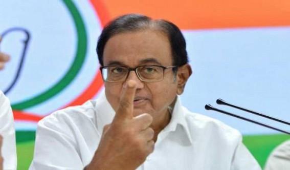 Chidambaram says baseless to call him conspirator