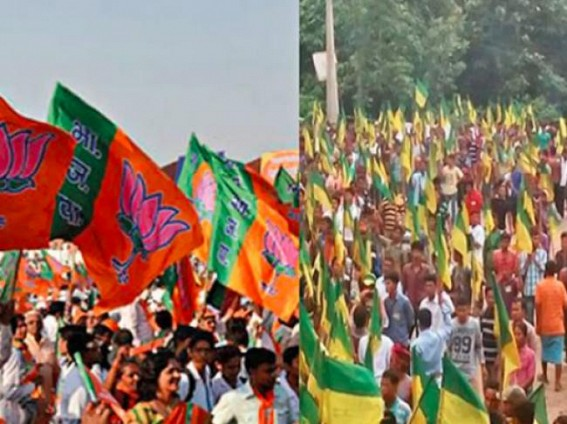 BJP's 'Ek Tripura, Shrestha Tripura' Mission vs. IPFT's Tipraland Dream increasing ideological tensions in alliance