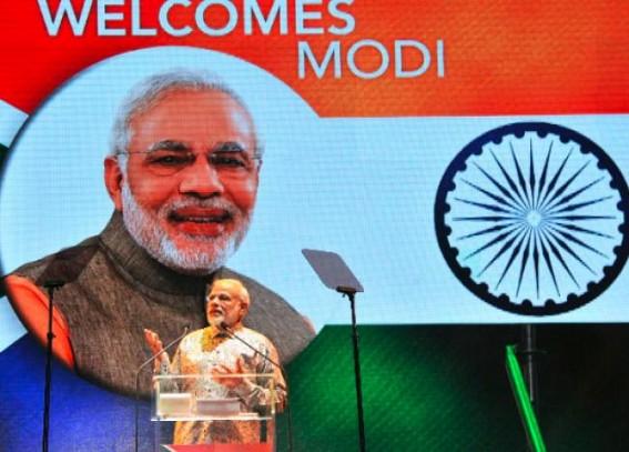 130 cr Indians have begun their journey towards 'vikas': Modi