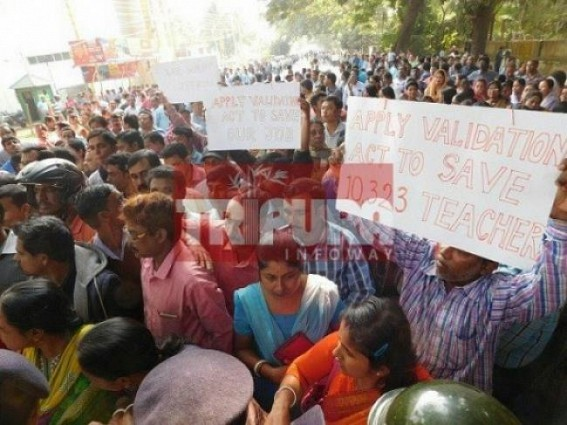 Tension grips terminated 10323 Teachers as ad-hoc job continuation to end after 9 months under SC's order