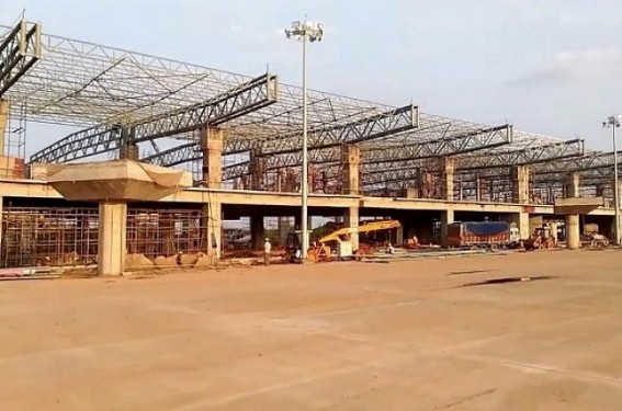 Tripura Govt opts for Indo-Bangla Airway connectivity, work at speed at MBB Airport's new terminal building