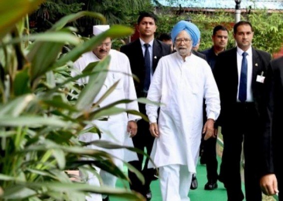 Govt withdrawn 'Special Protection Group' security cover of Manmohan Singh