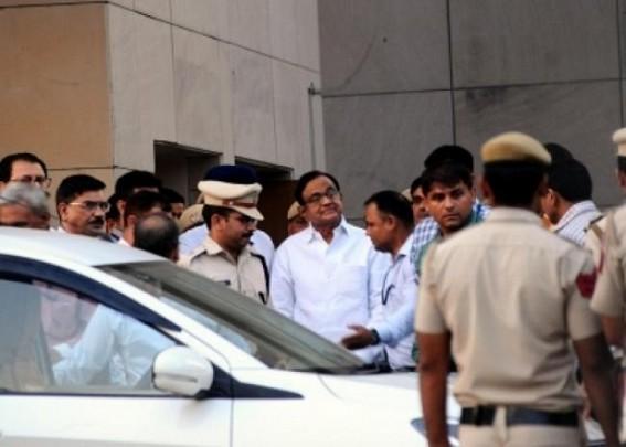 CBI court room is fortress ahead of Chidambaram case