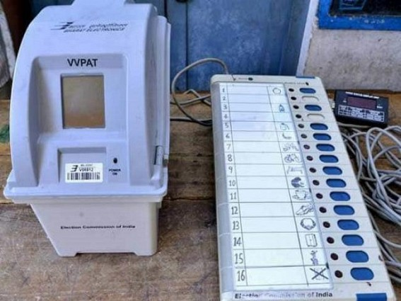 EVM, VVPAT to be used in by-elections : Model code of conduct comes in effect in Tripura's Badharghat constituency