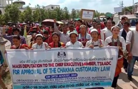 Tripuri Chakmas demand implementation of Customary laws in ADC