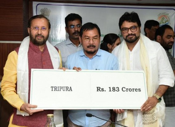 Centre accepts Tripura CM's demands placed at NITI-Aayog meeting, sanctioned Rs. 183.65 crores under CAMPA