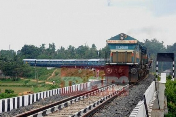 Much awaited DEMU train service in Tripura from Saturday : Frequency of Trains expected to increase heavily