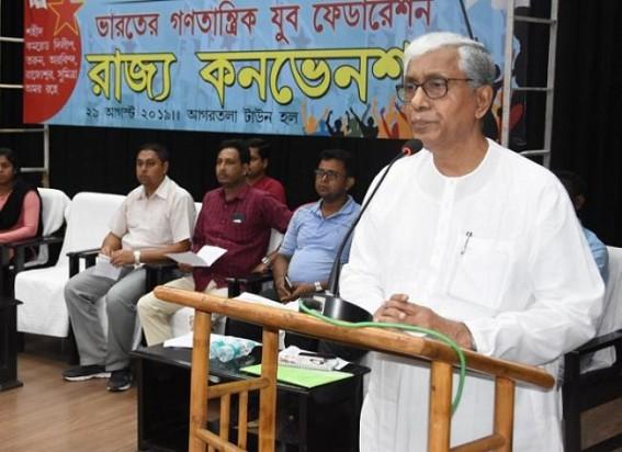 'Cowards die everyday, but braves die once', says Manik Sarkar