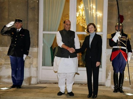Rajnath meets French counterpart, discusses defence cooperation