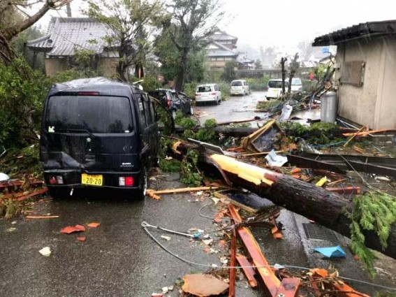 18 killed as super typhoon Hagibis lashes Japan