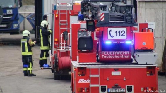 Around 35 workers rescued after explosion in German mine