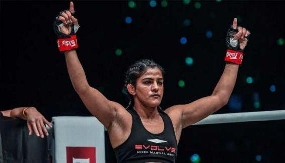 Ritu Phogat earns dominant victory on MMA debut