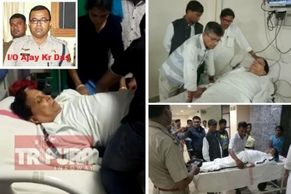 Tripura Police brutality continue unabatedly, IO Ajay Das slapped ICU patient Badal Chowdhury in Jail custody, interrogated inhumanely in separate room : Badal Chouhdury admitted into GB, Heath deteriorated under Police torture
