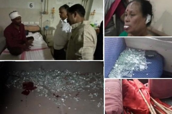 Police brutality on opposition, victims are common men, social media users : BJP activists' broad day light attack on women, opposition activists : Tripura suffering for electing BJP Party