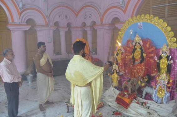 Auspicious Katyayani puja, another form of Durga puja observed on Maha-Astami
