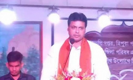 Tripura CM trolled in social media over comment of 'Mughals attempted to bomb Tripura's Cultural Wonders'