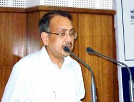 Jitendra Choudhury slams Biplab Deb Govt for insulting honest IAS L K Gupta who took Voluntary Retirement