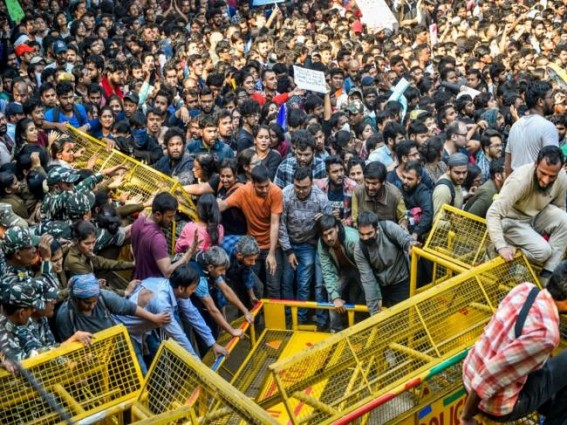 Will march to Parliament 10 times if demands not met: JNUSU
