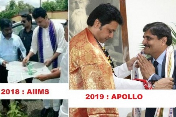 After 2018's AIIMS Hospital plan bites dust, new Apollo Hospital dream begins in 2019