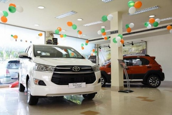 Toyota India car sales dip 22% in November